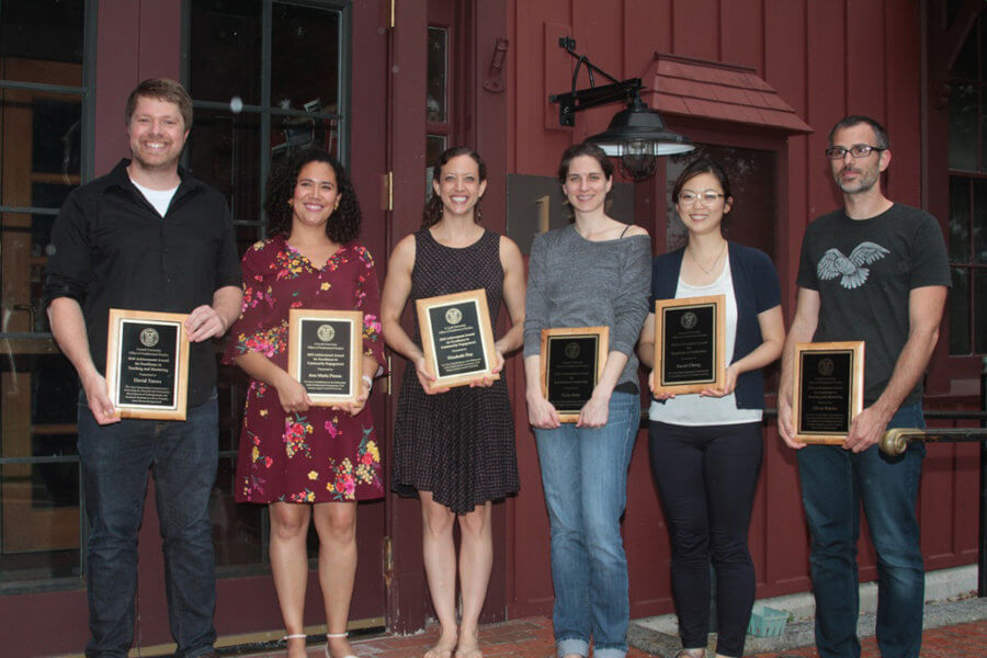 Elizabeth Day honored with postdoc award