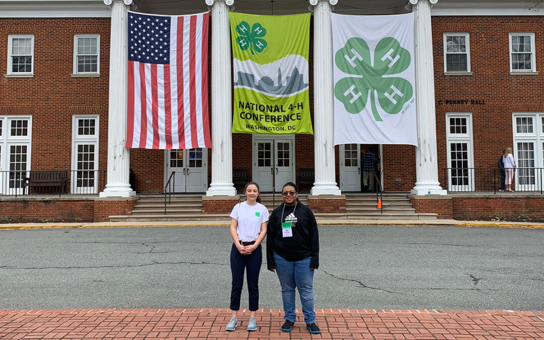 NY 4-H youth in DC for national conference