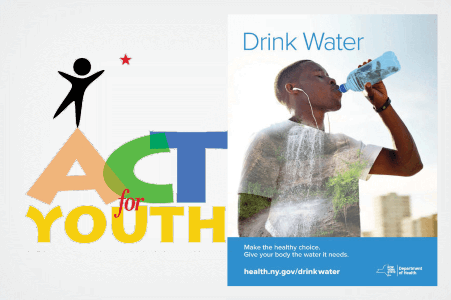 Getting youth to drink water, not sugar