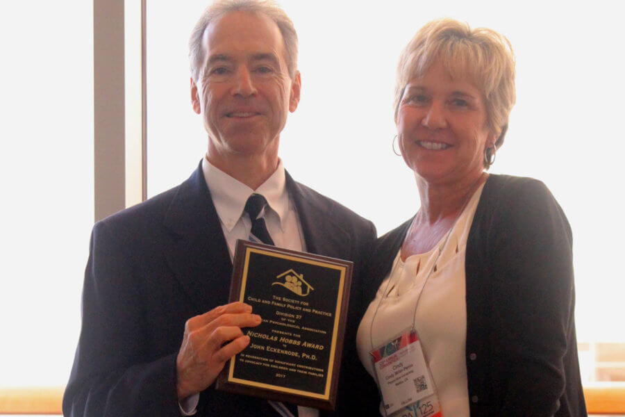 Eckenrode receives Outstanding Article Award