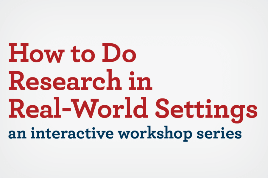 "Learn translational research methods in our ""How to"" Workshops"