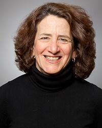 portrait of Jane Powers in a black turtleneck